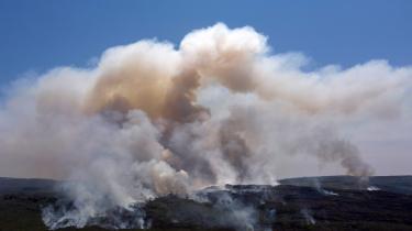 Historiske skovbrande hærger Brasilien – her Chapada Diamantina National Park i den nordøstlige del af landet, fotograferet i begyndelsen af oktober.