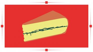 En sort stribe løber tværs gennem osten, og det har været morbiers kendetegn i over 200 år. Men vidste du, at det hele begyndte af nød?