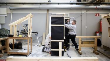 I Norge har de haft held til med mentorordninger at fastholde elever på erhvervsuddannelserne, men forskningen viser også, at fællesskabet med andre unge er vigtigt for at fastholde eleverne.  Arkivfoto.