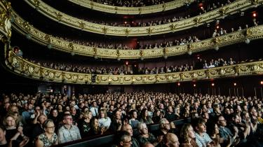 Diskussionen om, hvorvidt der skal være musicals på Det Kongelige Teater, bør ikke dreje sig om personlig smag og høj eller lav stil, men om det professionelle håndværk, der lægges bag, skriver Valdemar Lønsted i denne kommentar. Fotoet er et arkivfoto.