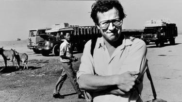 Robert Fisk på opgave for The Times i 1984 på grænsen mellem Sudan og Etiopien.