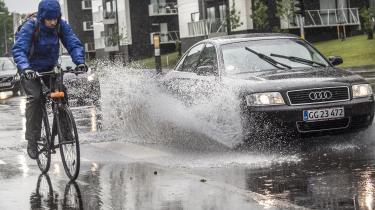 Der er intet værdigt over regntøj, skriver Nanna Goul.