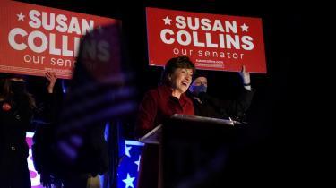I Maine led demokraterne et fatalt nederlag, da senator Susan Collins besejrede sin demokratiske modkandidat Sara Gideon efter et valgopgør, som begge sider havde investeret store ressourcer i, givet at statens senatsmandat så ud til at blive kritisk for magtfordelingen i Washington.