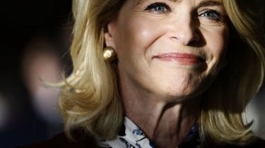 USA's ambassadør i Danmark vil helst ikke tale om, at hun påstod, at hendes stemme ikke var blevet talt med i det netop overståede præsidentvalg.