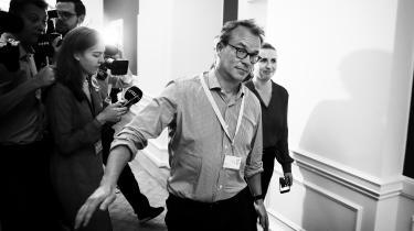 Hvis det er korrekt, at tidligere stabchef Martin Rossen (på billedet) og Lars Trier Mogensen er venner, indebærer det en interessekonflikt for den politiske kommentator, påpeger Mark Ørsten, der er professor og medieforsker ved Roskilde Universitet.