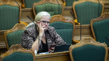 Dansk Folkepartis sundhedsordfører, Liselott Blixt, mener ikke, at Sundhedsstyrelsen har efterlevet den politiske vedtagelse om det kroniske træthedssysdrom ME.