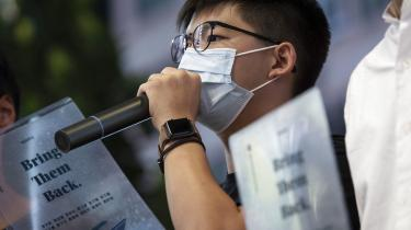 »Alle disse smerter og lidelser vil kun styrke vores mod og overbevisning om demokrati og retfærdighed,« har aktivisten Joshua Wong blandt andet skrevet i et brev, som er blevet offentliggjort på hans Twitterprofil.