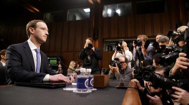 I 2018 vidnede Mark Zuckerberg i Senatet efter et datalæk hos Facebook.