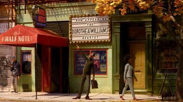 Fuld af forestillinger om en strålende fremtid drøner hovedpersonen jazzmusikeren Joe i Pixars 'Soul' gennem byens gader.