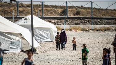 Børnene i de kurdiskkontrollerede flygtningelejre i Syrien har ikke vendt Danmark ryggen. Men nu vender Danmark og Danmarks statsminister altså børnene ryggen, skriver De Radikales David Munis Zepernick. Fotoet er taget i al-Roj-lejren.