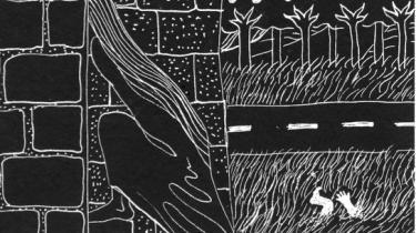 I 'Taarn' fortsætter Glenn Christian arbejdet fra sine forrige bøger med at fremskrive et intenst, kropsligt ubehag. Rolf Nowotny har illustreret.