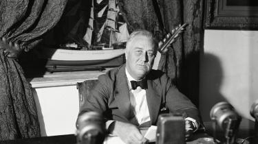Franklin D. Roosevelt var den 32. amerikanske præsident.