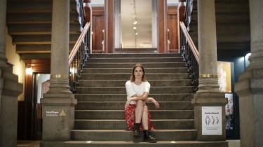 Museumsdirektør for Kvindemuseet i Aarhus Julie Rokkjær Birch. Det har skabt heftig debat, at kvindemuseet har skiftet navn til KØN.