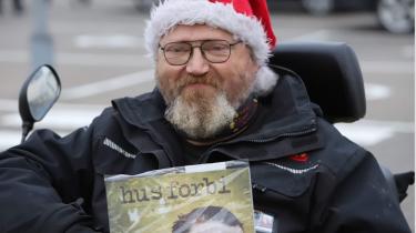 Det var med Hus Forbi i hånden foran Bilka, at Gunnar Ankerstjerne Søeberg genfandt en værdighed i sit liv.