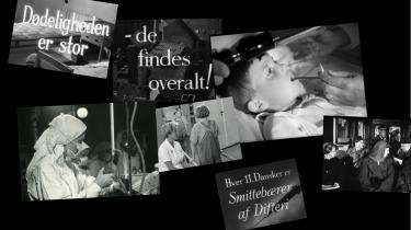 Smitteopsporing, testapparater og nationale vaccineprogrammer var hverdagskost i årene under og efter Anden Verdenskrig. Det Danske Filminstitut har digitaliseret kampagnevideoer fra 1940'erne og 1950'erne, der bringer os ind i en genkendelig situation i en helt anden tid