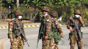 Mandag tog militæret igen magten i Myanmar.