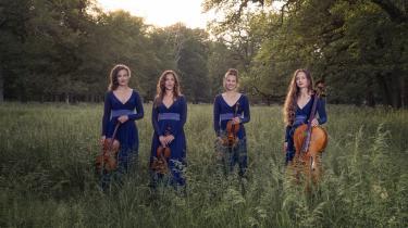 Nightingale String Quartet bliver efter alt at dømme Holmboes nye ambassadører, deres indspilningsprojekt vil komme langt ud over landets grænser og fører måske til en uhyre savnet renæssance for den store komponist.
