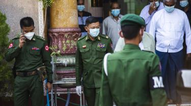 Den 1. februar tog militæret igen magten i Myanmar.