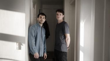 Ruben Rios Jensen og Dennis True er enige om, at det er et tabu for unge mænd at tale om at skulle have børn.