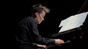 Joonas Ahonen imponerede med sine træfsikre og lynsnare bevægelser overalt på klaviaturet.