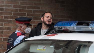 Pablo Hasél er dømt for at glorificere terrorisme og æreskrænke Spaniens tidligere konge.