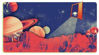 Det er ikke kun på Mars, vi søger efter liv. De seneste årtier har astronomien oplevet en regulær planetrevolution, fundet tusinder af fjerne planeter, og nu spejder man efter tegn på liv. Schweiziske Didier Queloz var med til at starte det hele og fik i 2019 nobelprisen for sin indsats. Han tror på liv i rummet og er besat af ideen om at finde en planet, der ligner vores