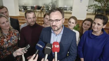 Der var samling og glæde, da klimaminister Dan Jørgensen og et bredt flertal blev enige om at indføre en ambitiøs klimalov i december 2019.