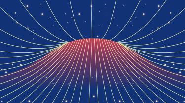 Alle partiklerne, atomerne, molekylerne, asteroiderne, planeterne, stjernerne og galakserne udgør kun meget, meget lidt af universets indhold – cirka fem procent, mener man i dag. Resten befinder sig i mørket som mørkt stof og mørk energi, og det er to meget store mysterier