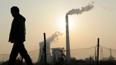 Kina er den eneste af de store økonomier, der samlet for hele 2020 har vækst i CO2-udledningerne.