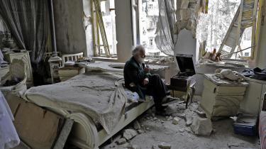 Den syriske by Aleppo har været en af de blodigste skuepladser for borgerkrigen i Syrien.