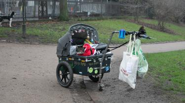 Den fysiske hjemløshed er kun den ene af de fem former for hjemløshed, som Ole Thyssen tager en omgang med i sin bog.