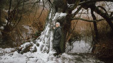Christina Hesselholdts 'Feje blade sammen op mod vinden' er en lille, sørgmunter, fløjlsblødt velskrevet meditation over det at blive ældre, at nå til et sted, hvor erindringen om fortiden og en lavmælt hverdag har overdøvet enhver ambition.