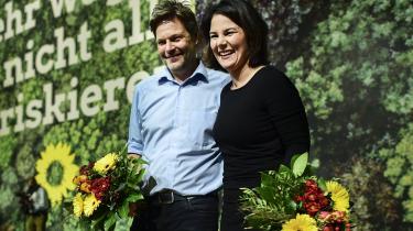 Robert Habeck eller Annalena Baerbock? Det afgøres formentlig snart, hvem af De Grønnes to formænd, der bliver tysk kanslerkandidat.