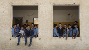 """Danmark samarbejder ikke med det syriske regime, og drfor kan syrerene i Danmark ikke tvangsudsendes. I stedet """"motiverer"""" myndighederne dem til frivillig rejse. Her er det en gruppe skolebørn i Damaskus i Syrien."""