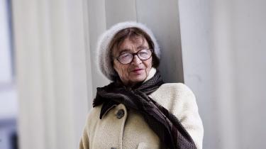 Ágnes Hellers livserfaringer med totalitær ideologi og statsmagt i det 20. århundrede har i dén grad vaccineret hende mod at tro på virkeliggjorte utopier og forrådte revolutioner. Her er hun fotograferet i 2006.