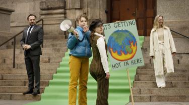 Phie Ambos film '70/30'  afdækker det politiske forløb omkring tilblivelsen af den ambitiøse klimalov.