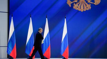Onsdag talte Putin til det russiske folk midt i en hastigt eskalerende konflikt med Vesten.