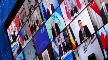 Den kinesiske præsident Xi Jinping var en af de fyrre regerings- og statsledere, der i denne uge tonede frem på skærmen til det virtuelle klimatopmøde, som den amerikanske præsident havde indkaldt til
