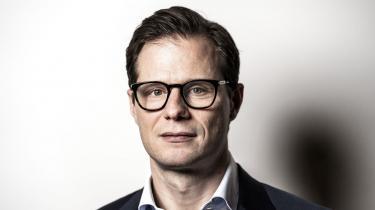 Topchef i Danske Bank Carsten Egeriis er »meget ked af det«, fordi erhvervsminister Simon Kollerup har kaldt bankerne »grådige«.