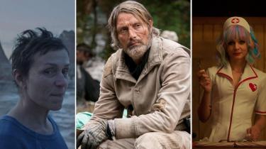 Oscarvinderen Nomadland, ungdomseventyrfilmen Chaos Walking og hævnhistorien Promising Young Woman kan alle ses i biografen.
