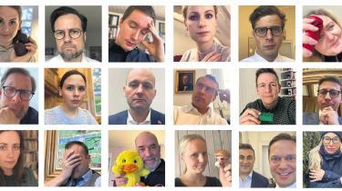 Det seneste år eller to har en bølge af følelsesladede selfies skyllet ind over størstedelen af folketingsmedlemmernes facebook- og instagramprofiler.
