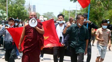 Siden militærkuppet i Myanmar den 1. februar i år har der været store demonstrationer mod militæret, og mindst 780 civile er blevet dræbt i forbindelse med protesterne.