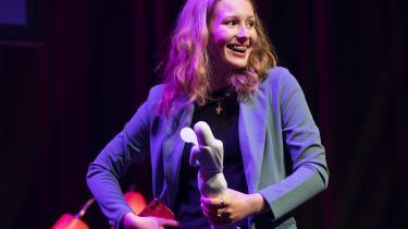 Lørdag aften vandt 13-årige Kaya Toft Loholt bodilprisen for bedste kvindelige hovedrolle.