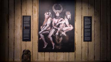 Nogle fandt det provokerende, da Nationalmuseet inviterede designeren Jim Lyngvild til at indrette museets vikingeudstilling.
