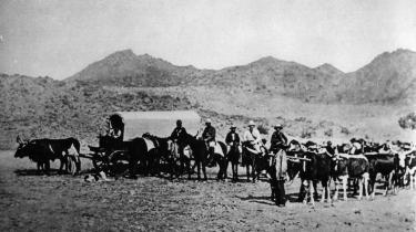 Tysk koloni i Namibia i 1886.