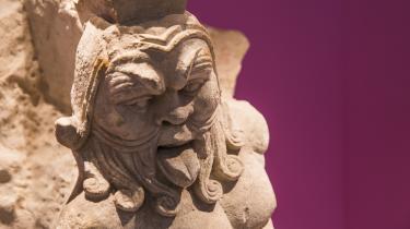 Bes, som kan opleves på Glyptoteket, var en venlig grimrian, som både gav beskyttelse i hverdagen og var et billede på nydelsen af fest, musik og sex.