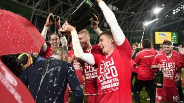 Fodboldlandsholdet spillede 1-1 mod Irland tilbage i november 2019 og kvalificerede sig dermed til sommerens EM.