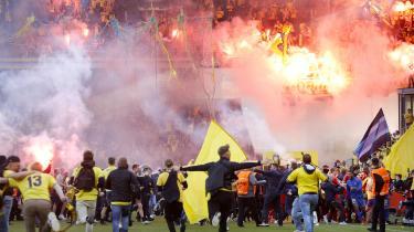 Brøndby er blevet idømt en bøde på 450.000 kroner og en hjemmekamp uden tilskuere på grund af 'Guldfesten på Vestegnen'.
