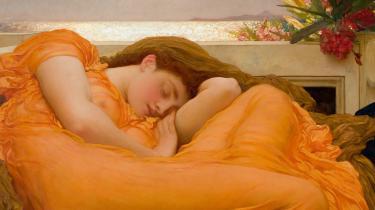 Den vestlige kunsthistorie er fuld af sovende kvinder. Vi har fået en kunsthistoriker til at guide os gennem motivets historie fra antikkens og renæssancens belurede skønheder til dengang i 1800-tallet, da malerne for alvor blev interesserede i, hvad der foregår inde bag de lukkede øjenlåg