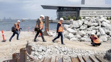 På Papirøen i Københavns Inderhavn bliver der blandt andet opført almene boliger, ungdomsboliger og et bofællesskab. Det forventes at stå færdigt i starten af 2024.